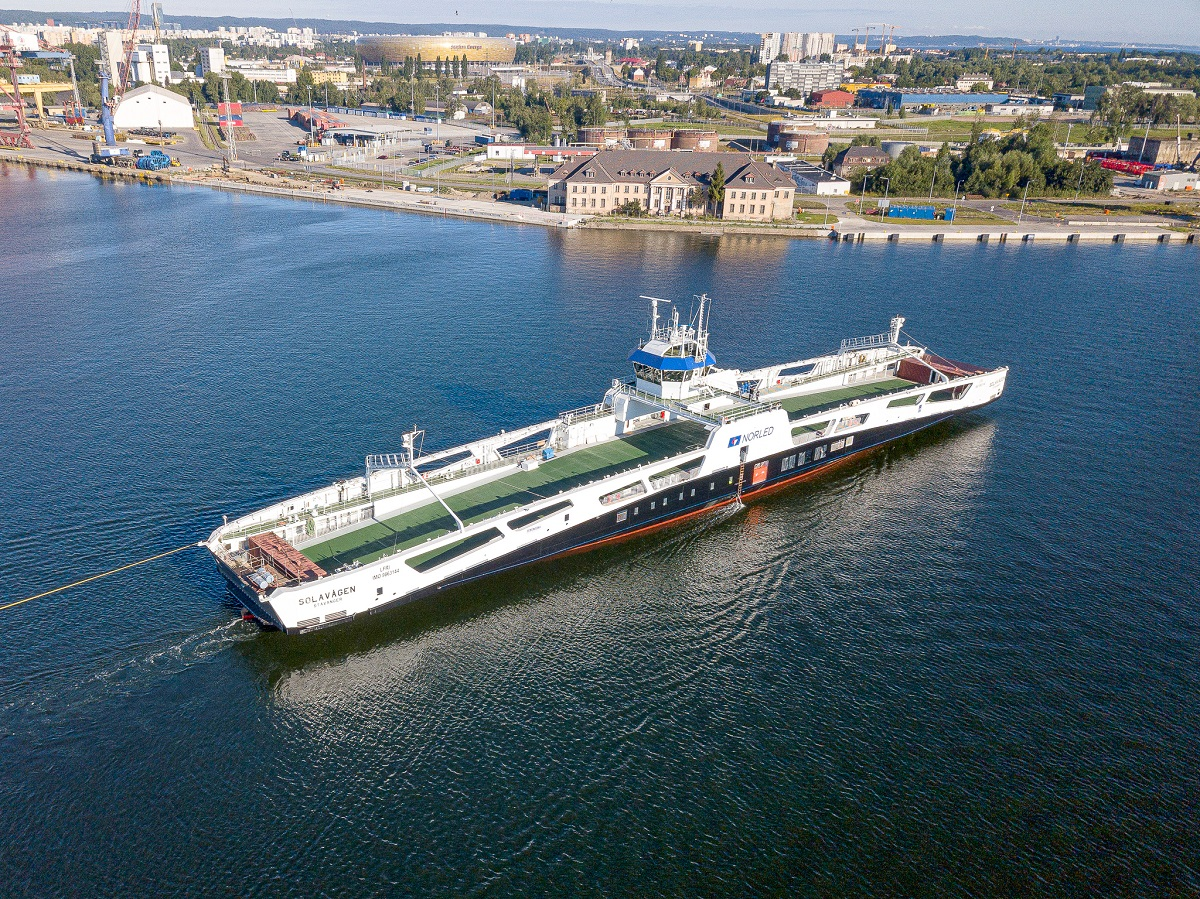 Second electric ferry for Norled at sea trials