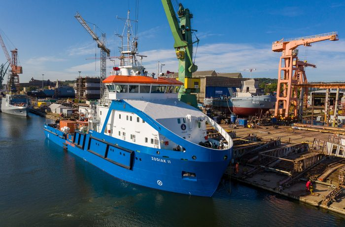 Zodiak II handed over to the Maritime Office in Gdynia