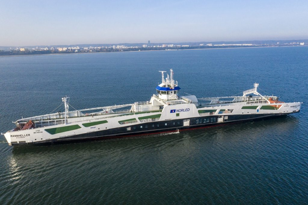 Electric ferry Mannheller for the shipowner Norled