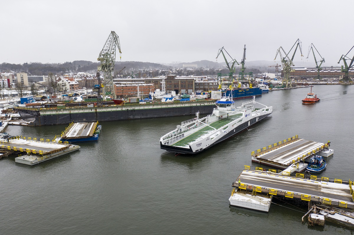 Electric ferry Fodnes sailed to Norway