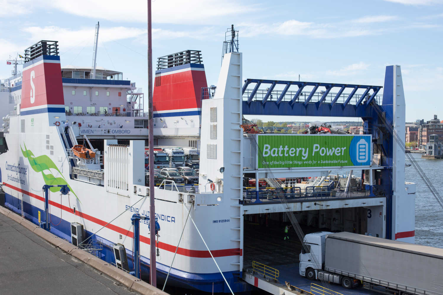 Stena Line to reduce carbon emissions