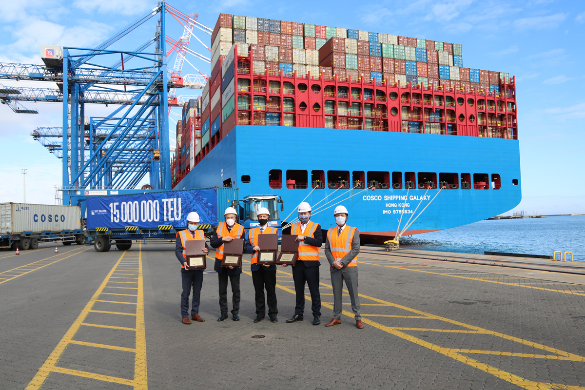 DCT Gdańsk Achieves 15 million TEU Milestone