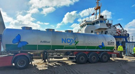 The first NOXa loading in the history of Grupa Azoty and the first in a Polish port