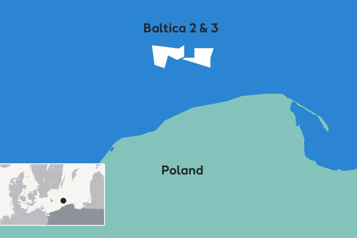 Poland awards Contract for Difference to the Baltica offshore wind farms
