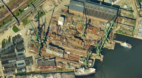 Gdansk Shipyard with court-approved conservation protection