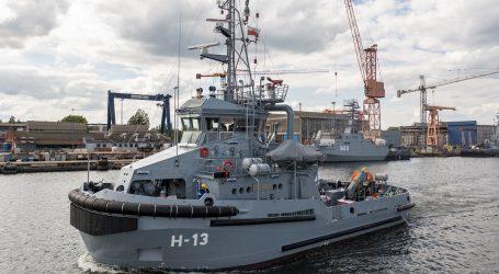 Tugboat H-13 Przemko has left the shipyard