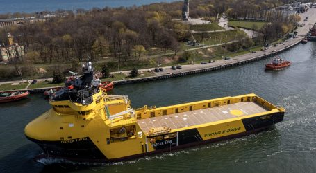 Remontowa Shipbuilding hands over the PSV hybrid vessel