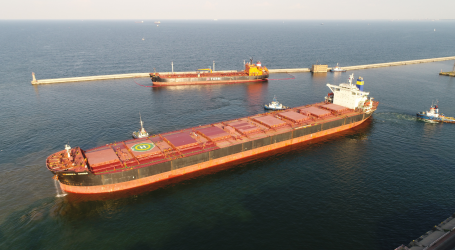 Record of liquid fuel transshipments in the Port of Gdynia