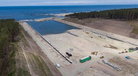 Halfway point in works on the Vistula Spit