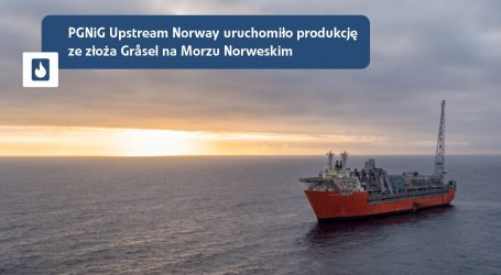 PGNiG launches production from a new field in the Norwegian Sea