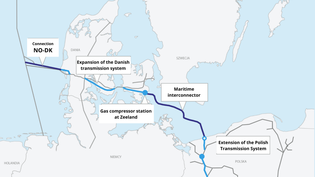 Baltic Pipe Tunnel drilling completed at offshore gas pipeline landing site in Poland