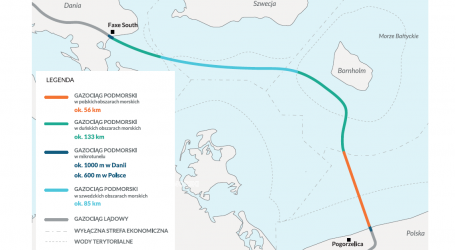 Gaz-System has just started laying baltic pipe gas pipeline in the baltic sea