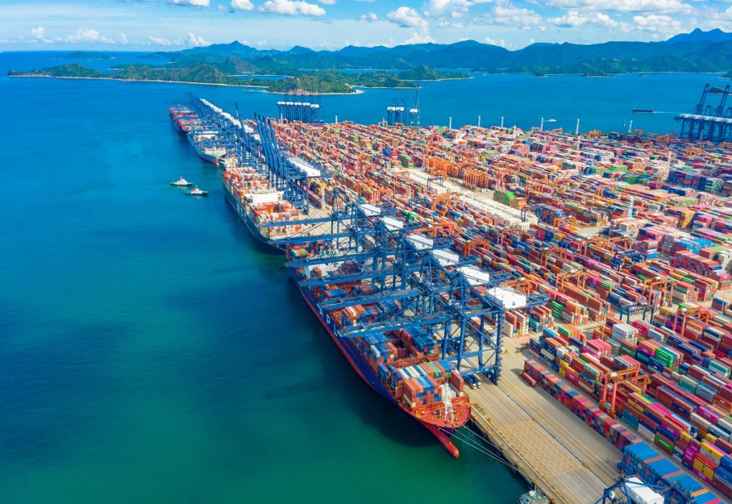 Yantian Port, Shenzhen City, Guangdong
