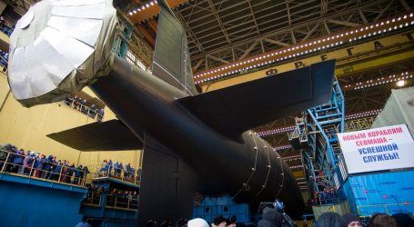 Krasnoyarsk nuclear ship has been launched in Russia's north