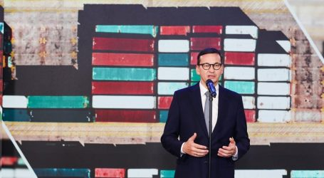 Morawiecki: expansion of Gdansk port will increase handling capacity by one and a half million TEUs