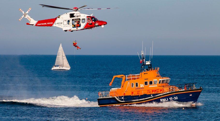 Coastguard And Lifeboat
