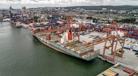 Hapag-Lloyd vessel at Hutchison Ports Gdynia