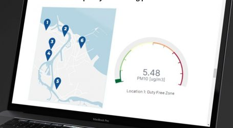 Check air quality in the Port of Gdansk