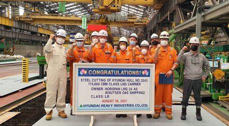 Construction of Knutsen's first LNG carrier under PGNiG charter has begun