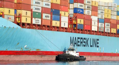 Maersk's ship broke a submarine cable. Captain charged
