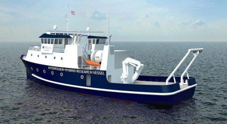 Hydrogen propulsion of new University of California research vessel