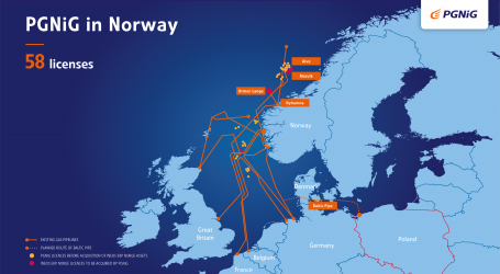 PGNiG to acquire 21 licences on the Norwegian Continental Shelf