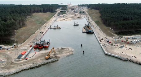 Tourists eager to see construction of waterway across the Vistula Spit