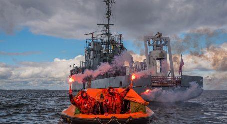 Maritime survival training