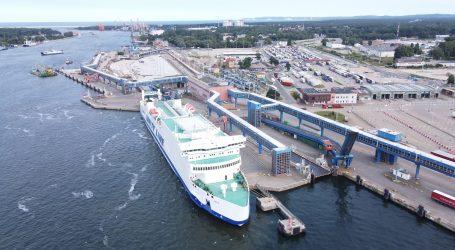 Progress of modernisation works at the ferry terminal in Świnoujście