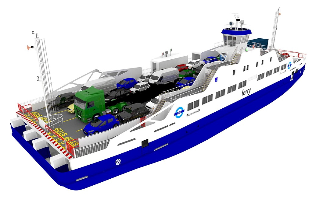 Remontowa Shipbuilding to build hybrid ferries for London | Poland ...